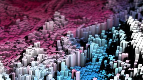 urban abstract city abstract geometric urban background cityscape background geometric Animation