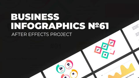Business Infographics Vol.61 After Effects Template