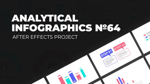 Analytical Infographics Vol.64 After Effects Template
