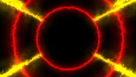 Animation glowing energy portal. Seamless loop Animation