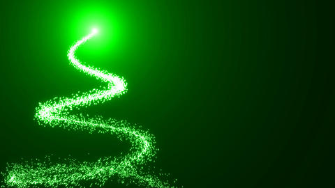 Animated Festive Christmas background with tree. Just add your Christmas title,  Animation
