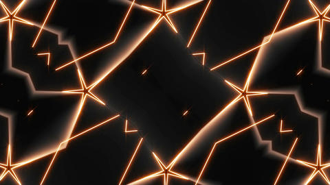 Abstract Kaleida Shapes Background. Computer graphic background Animation