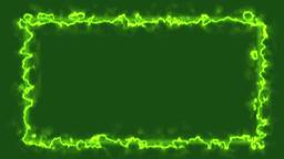 Green Energy Style Frame Animation