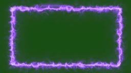 Nebula - Fire Energy Style Frame Animation