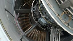 turbo jet engine Footage