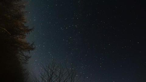 night sky star Footage