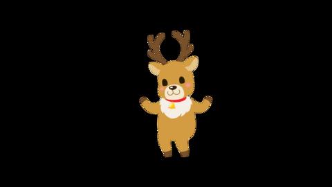 Reindeer dance Animation