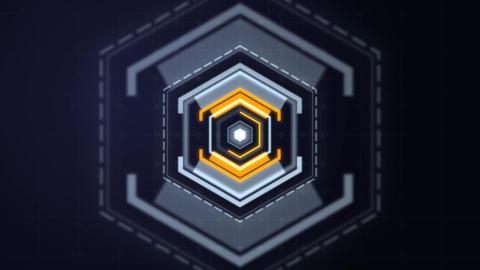 Futuristic-glitch-opener After Effects Template