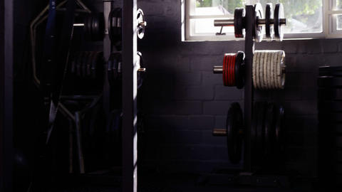 Equipments in the gym Live Action