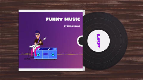 Funny Character Audio Visualization After Effects Template