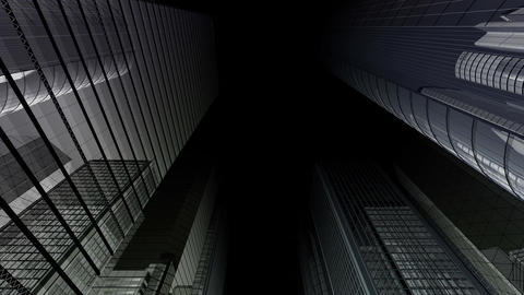 Skyscraper 2 Fb2 dark 2 4k Animation