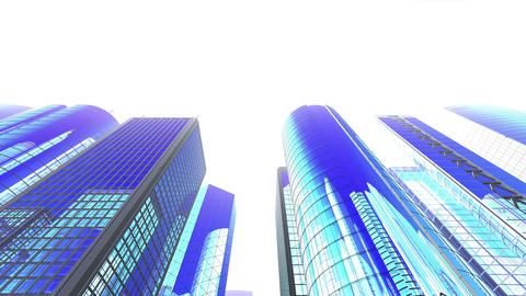 Skyscraper 2 Jb2 white 4k Animation