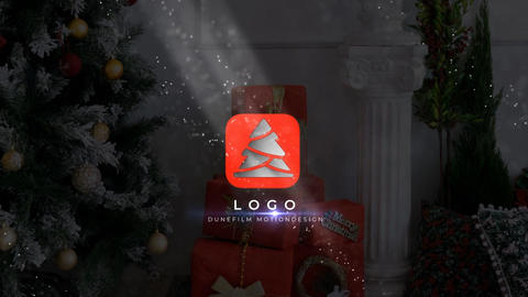 Christmas Tree Logo After Effects Template