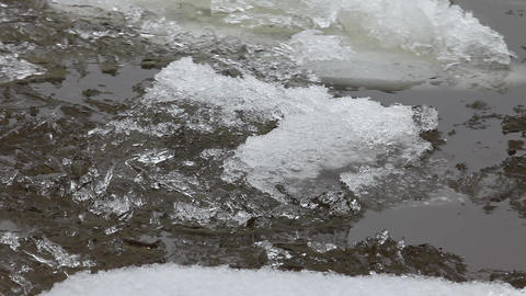 ice flow Stock Video Footage