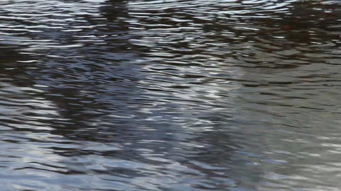surface of water Stock Video Footage