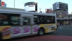 Shinjuku crossroad day 05 sound Footage