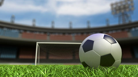 Football background Stock Video Footage