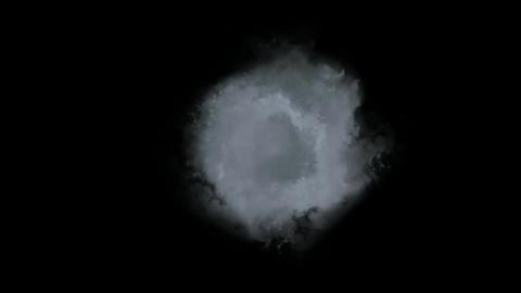 smoke & fume tunnel in universe Stock Video Footage