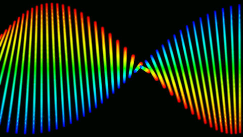 dna colors Stock Video Footage
