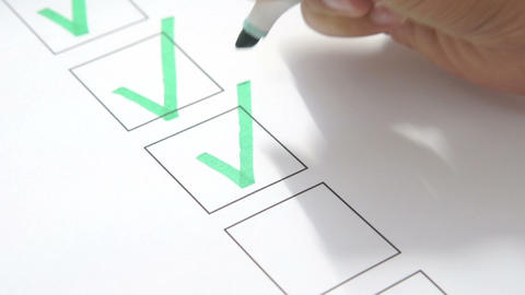 To do list Stock Video Footage
