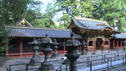 Nikko shrine Footage