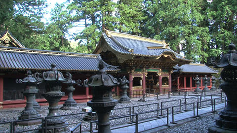 Nikko shrine Stock Video Footage