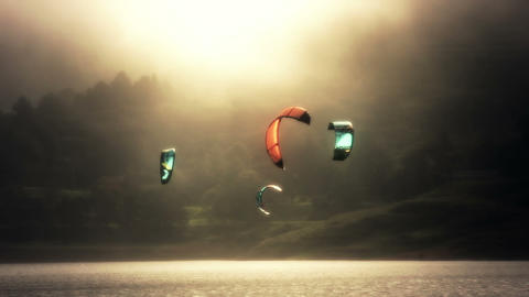 Kite Surf 03 Footage