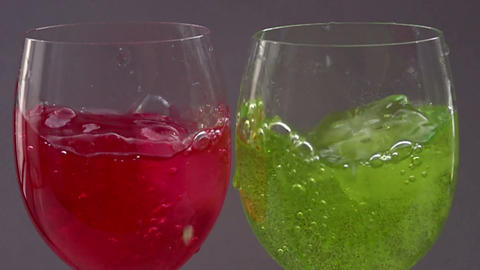 Two Coctails HD stock footage