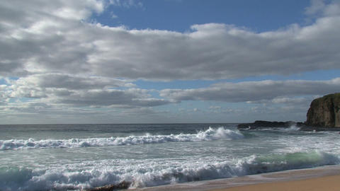 7 miles beach Stock Video Footage