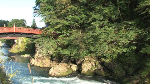 Nikko bridge Stock Video Footage