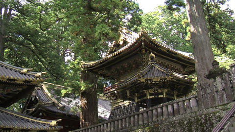 Nikko shrine zoomout Footage