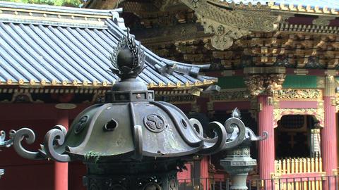 Nikko shrine 02 zoomout Stock Video Footage