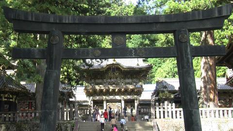 Nikko shrine tilt Footage