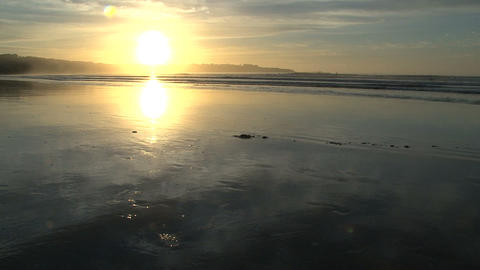 sunrise beach Stock Video Footage