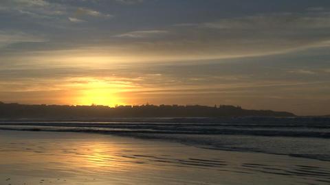 sunrise beach Stock Video Footage