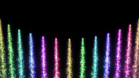 Light Water Fall 6 1 R HD Stock Video Footage