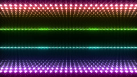 LED Wall 2 W Db O 2 HD Stock Video Footage