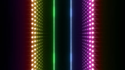 LED Wall 2 W Db O 4 HD Stock Video Footage