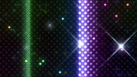 LED Wall 2 W Hb Y HD Stock Video Footage