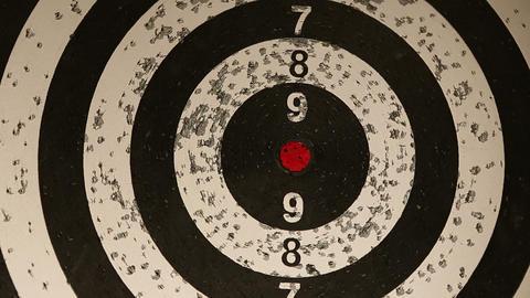 darts 05 Stock Video Footage