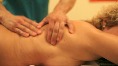 massage 02 Stock Video Footage