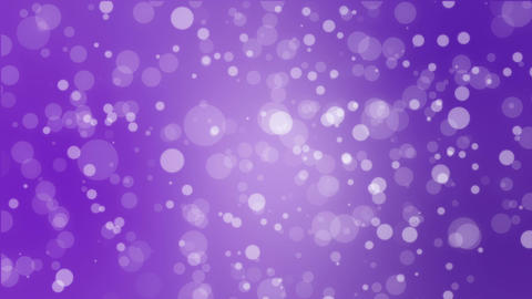 Abstract purple holiday background with animated bokeh lights Animation