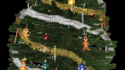 Xmas Tree - Loop - Alpha Animation
