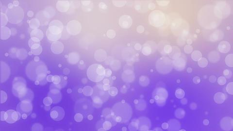 Purple yellow bokeh holiday background Animation