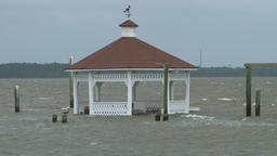storm surge flooding Footage
