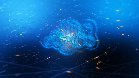 Cloud Computing Animation Image