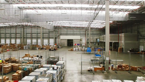 New large and modern warehouse space Live Action