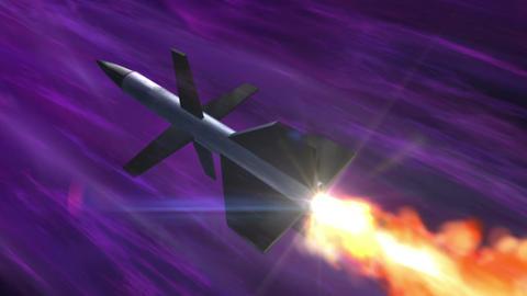 SHA Missile Fire Image Violet Animation