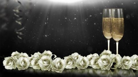 Wedding Background (2), Stock Animation
