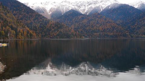 Panorama of Lake Ritsa Live Action